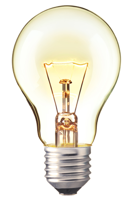 Light bulb emitting lumens