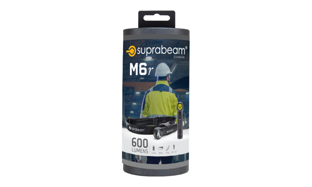 Suprabeam M6r packaging