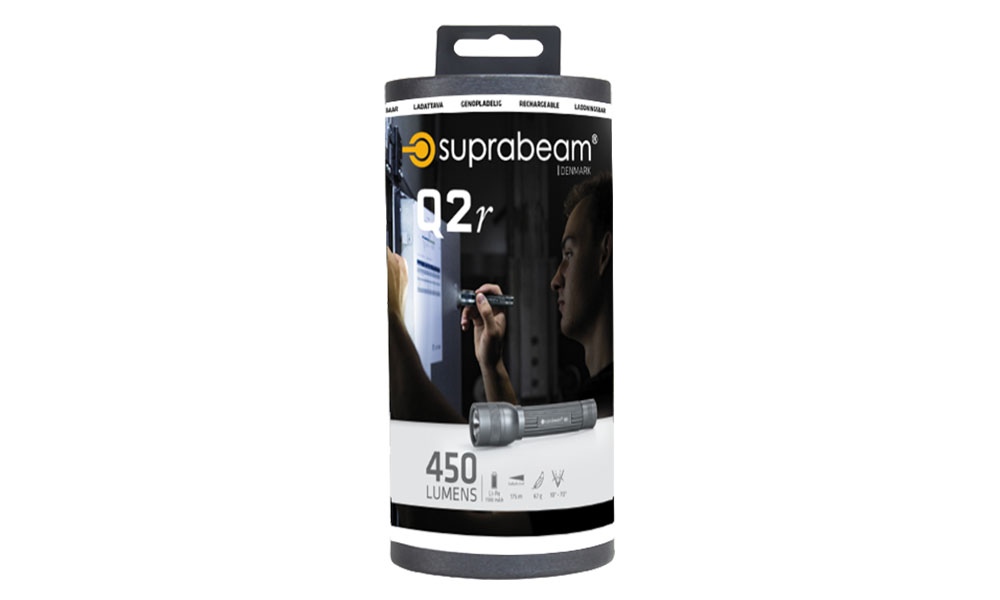 Suprabeam Q2r packaging