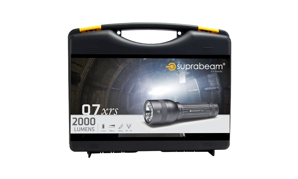Suprabeam Q7xrs packaging