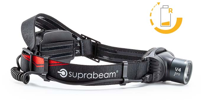 Suprabeam V4pro rechargeable overview