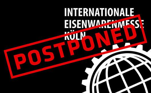 Eisenwarenmesse postponed