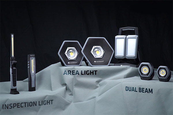 Suprabeam worklight lineup