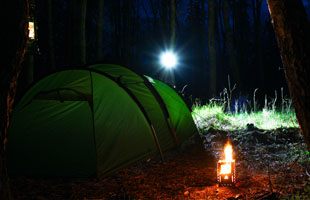 Suprabeam & the great outdoors