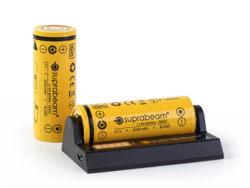 Suprabeam lithium batteries